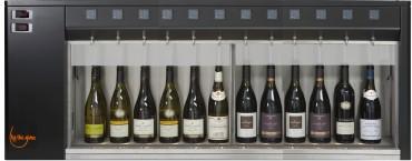 DISTRIBUTEUR SUR MESURE <br>GAMME STANDARD (6 à 40 bouteilles)