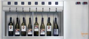 distributeur vin au verre modele standard acier By the glass