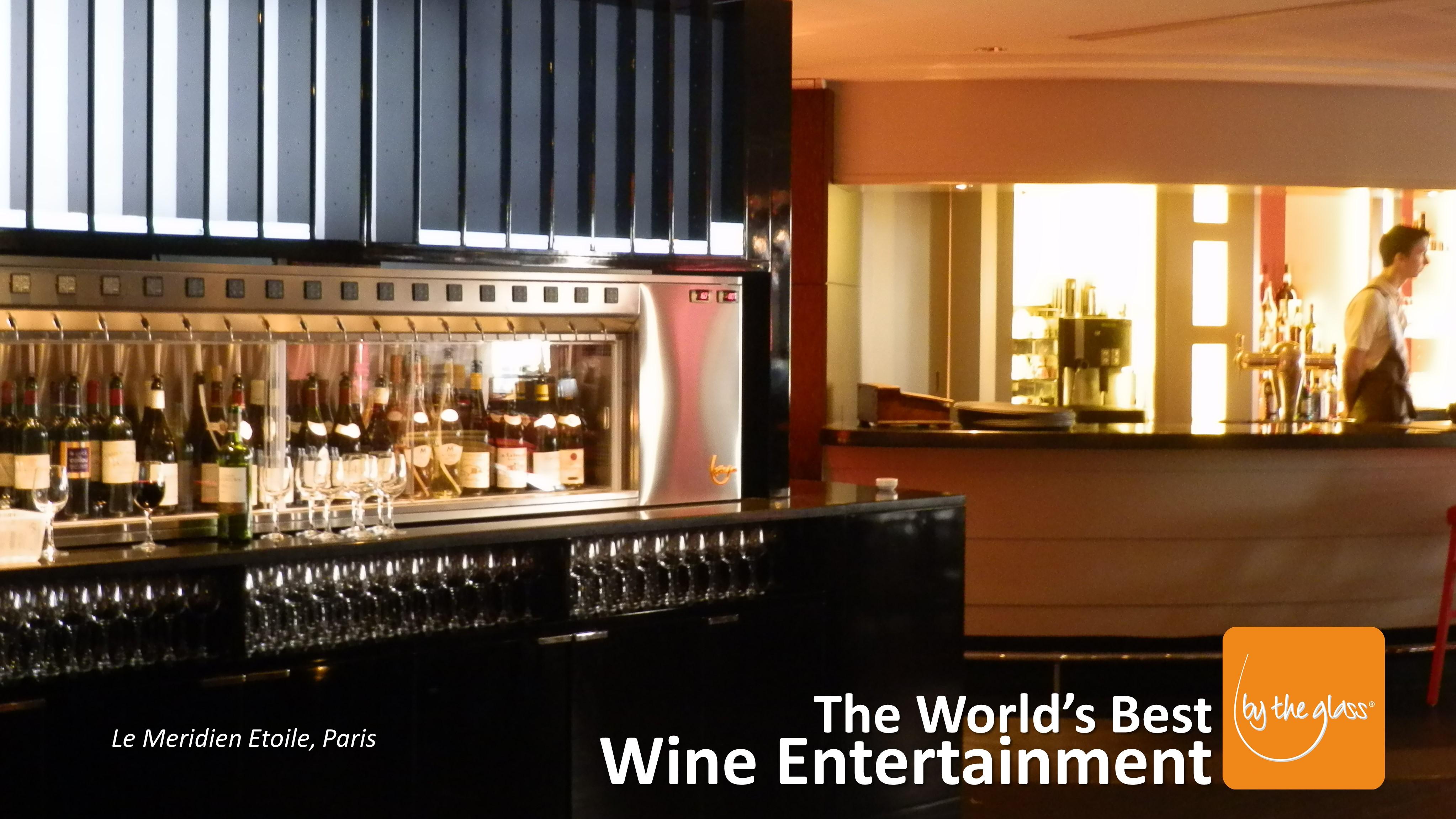 Hotel Méridien Etoile - Distributeur de vin au verre modèle Sur-Mesure