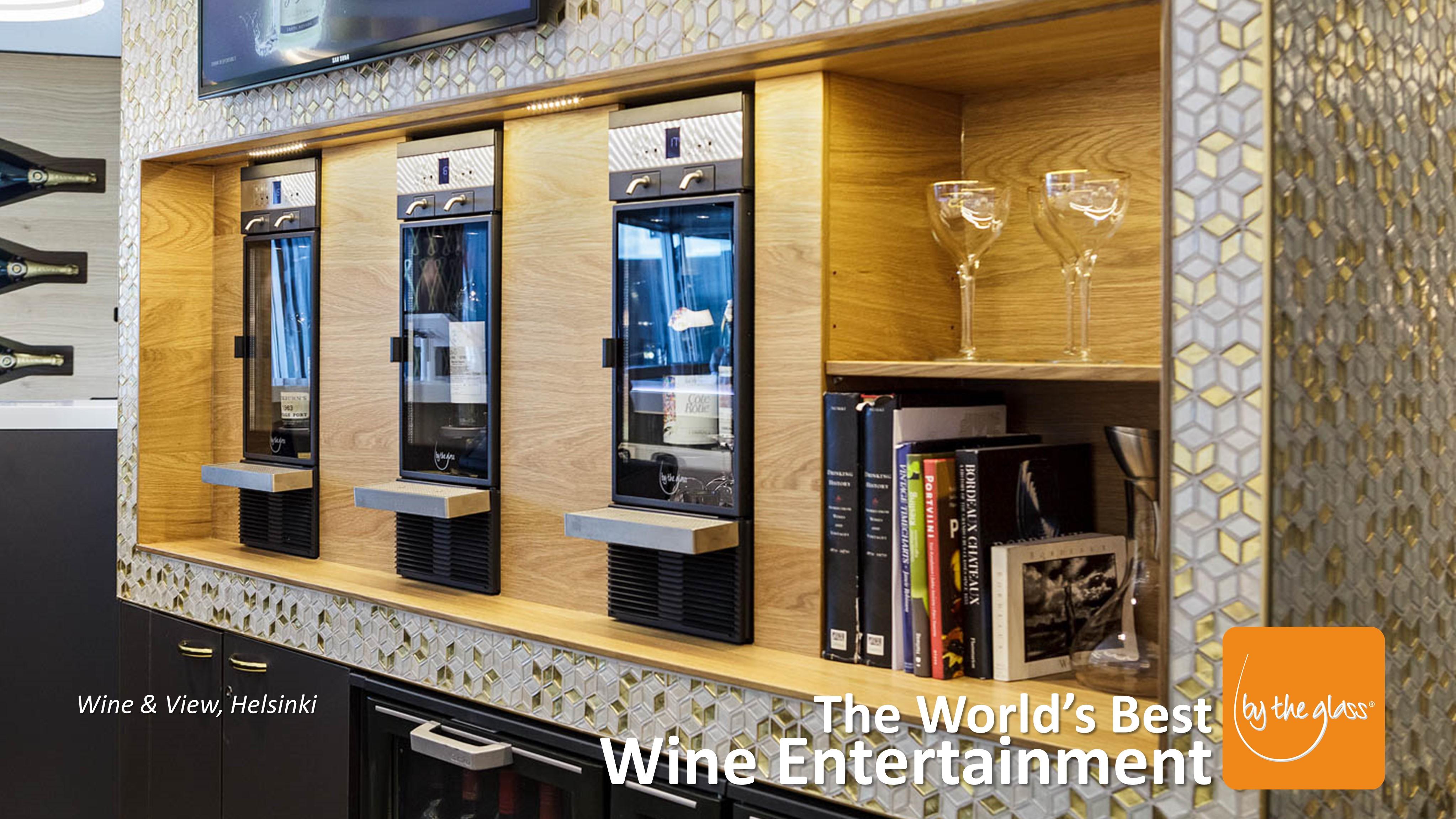 Wine & Wiew - Distributeur de vin au verre modèle Modulaire