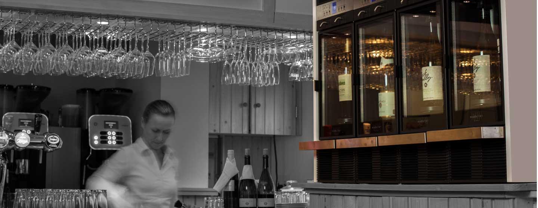 Restaurant Bartje, Distributeurs de vin modèle Modular