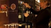 Distributeur de vin pour French Laroche brand