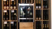 Solution modulaire vin au verre magasin de détail