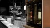 Système modulaire vin au verre 2 bouteilles island bar