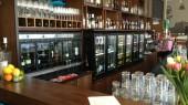 Distributeur de vin modulaire Restaurant Fontti à Turku Finland