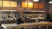 Grand système pour 100 bouteilles de vin chez Vagabond London