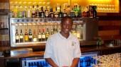 Service de vin au verre à 16 bouteilles au Zambie