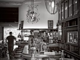 Café de la Fontaine, Maussane-Les-Alpilles