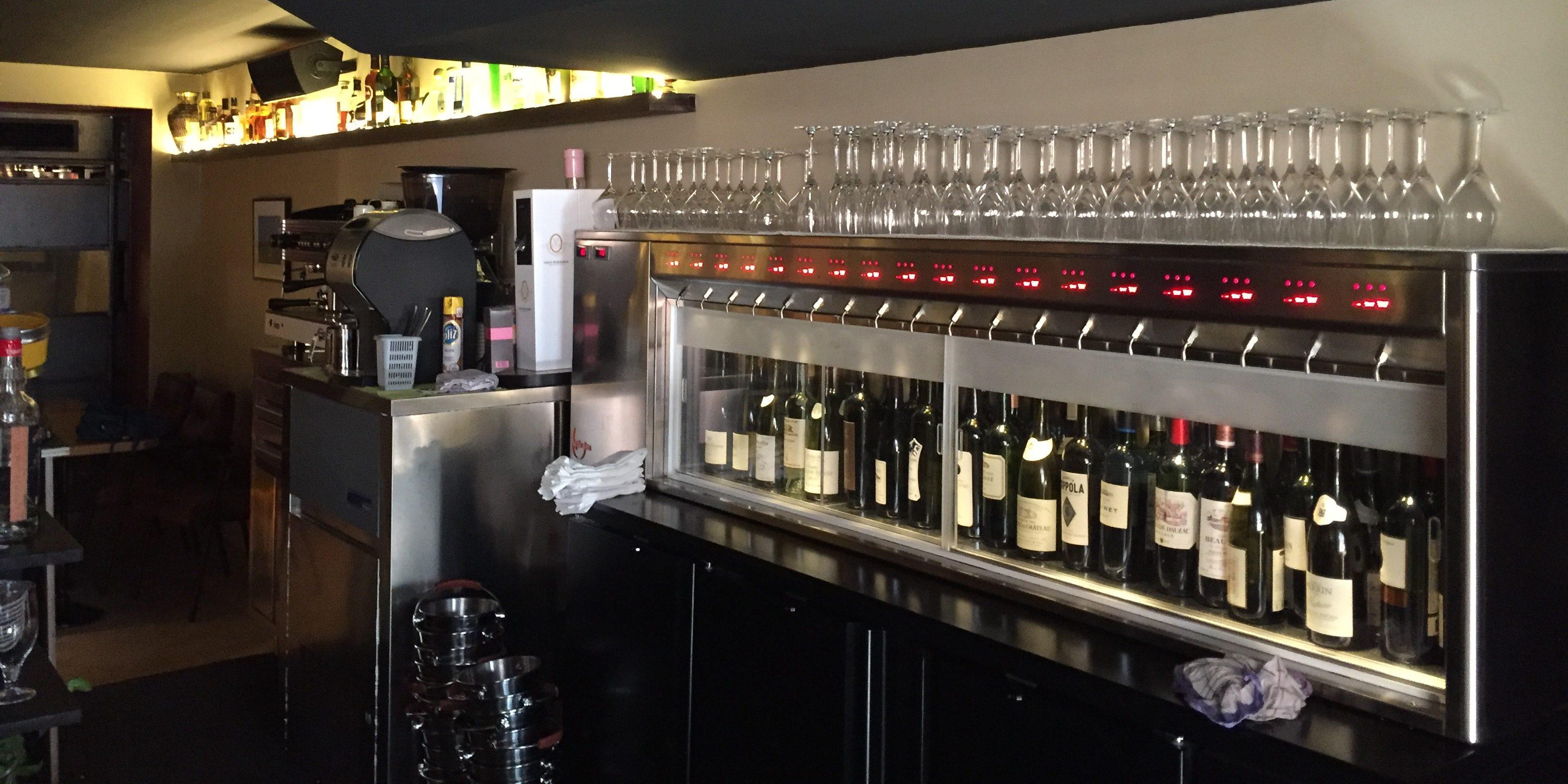 Distributeur de vin au verre Sur-Mesure
