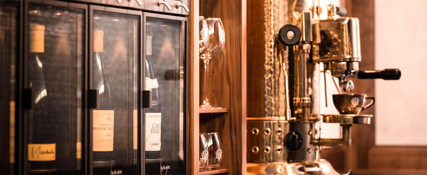 Distributeur de vin au verre modèle Modulaire